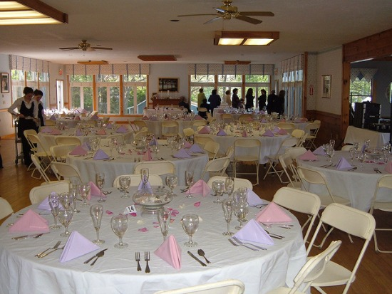 Cheap Purple Wedding Centerpieces