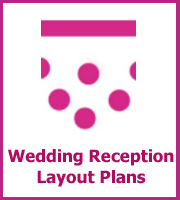 wedding reception layout