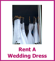 rent a wedding dress