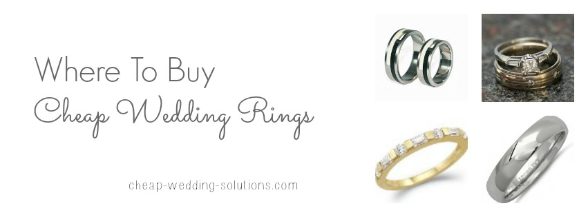 where to buy cheap wedding rings