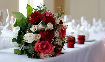 bouquet for top table