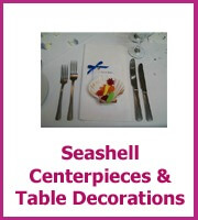 seashell centerpieces