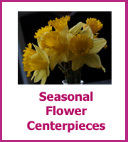 inexpensive seasonal flower centerpieces
