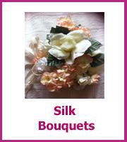 cheap silk flower bouquets