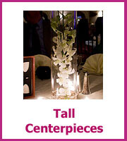 inexpensive tall wedding centerpieces