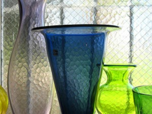 colored wedding vases