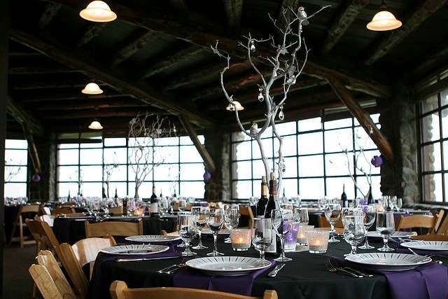 silver wedding tree centerpiece