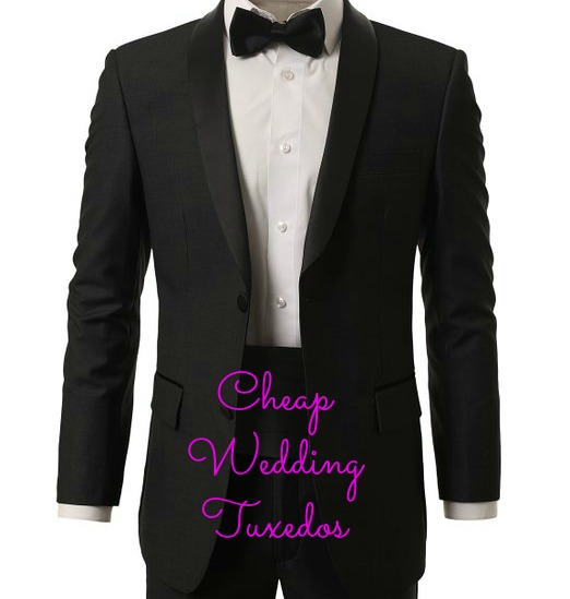 cheap wedding tuxedo