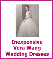 inexpensive vera wang wedding dresses