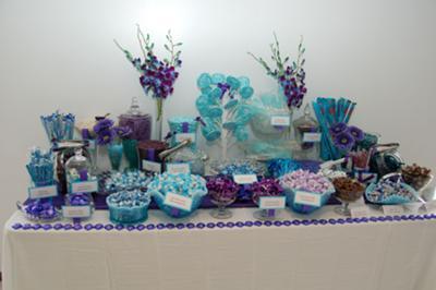 Wedding Reception Buffet on Wedding Candy Buffet Made Easy