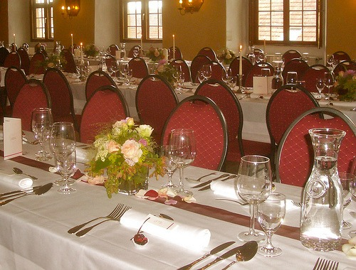 Reception Without Chaircovers