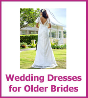 cheap wedding dresses for older women