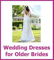 cheap wedding dresses for older women