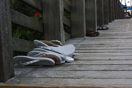 wedding flipflops