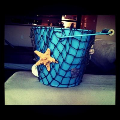 wedding ring bearer pail