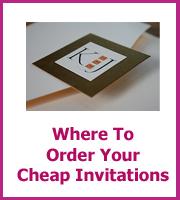 where find cheap wedding invitations