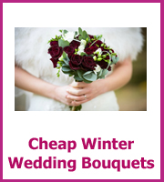 cheap winter wedding bouquets