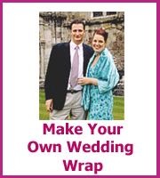 how to make your own wedding wrap