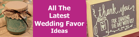 latest wedding favor ideas