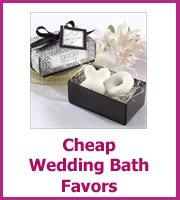 cheap wedding bath favors
