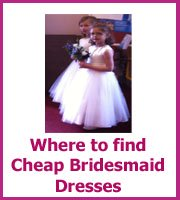 where cheap bridesmaid dresses