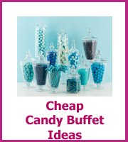 cheap candy buffet ideas