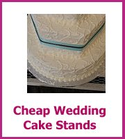 cheap wedding cake stands