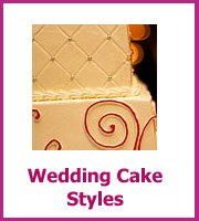 inexpensive wedding cake styles
