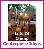 cheap wedding centerpieces