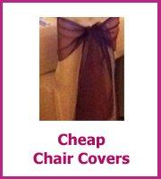 cheap wedding chair covers