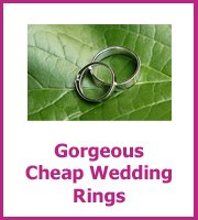 cheap wedding rings
