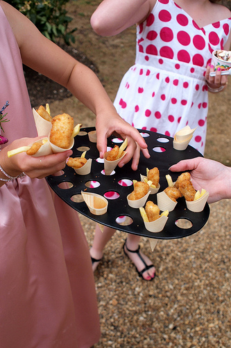 french fries snack at your wedding reception
