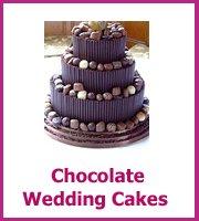 cheap chocolate wedding cakes