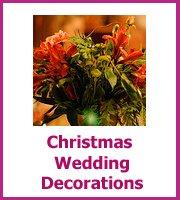 christmas wedding decoration ideas