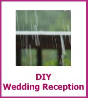 DIY wedding reception