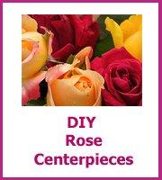 cheap diy rose centerpieces