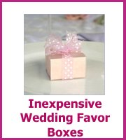 cheap wedding favor boxes