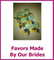 real life brides cheap favor ideas