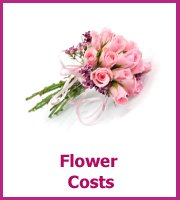 how much are wedding flowers