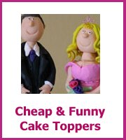 cheap funny cake toppers
