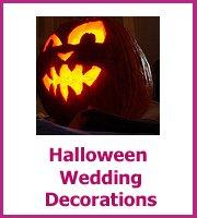 haloween wedding decorations