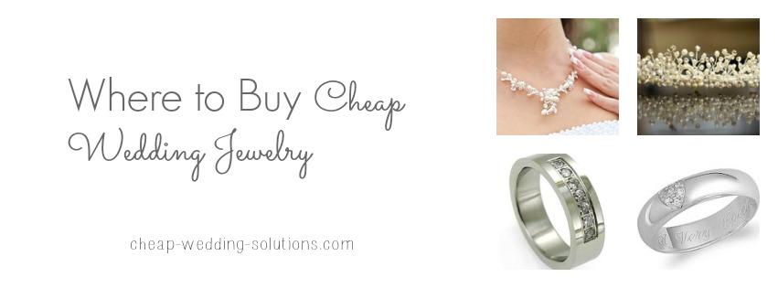 where to buy cheap wedding jewelry