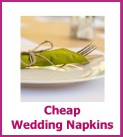 cheap wedding napkiins