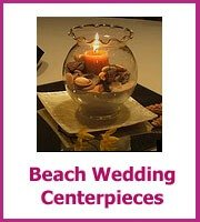 cheap beach wedding centerpieces