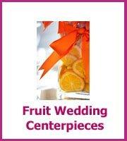 inexpensive fruit wedding centerpieces