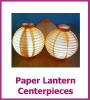 inexpensive paper lantern wedding centerpieces