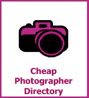 cheap wedding photographers directory