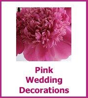 pink wedding decoration ideas