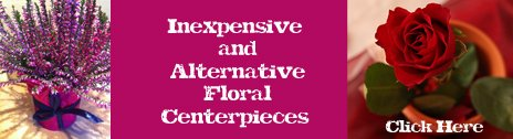 alterntative floral centerpieces