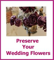 how to preserve your wedding flowers